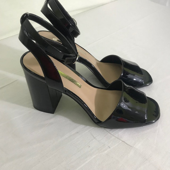 148d61aae0 Audrey Brooke Shoes - Audrey Brooke Angie patent look chunky heel sandal